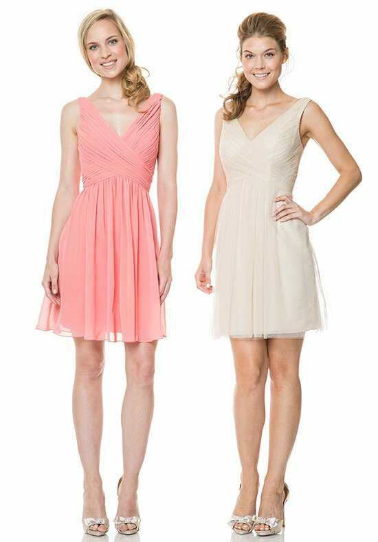Bari Jay Bridesmaids EN-1511 V-Neck Bridesmaid Dress