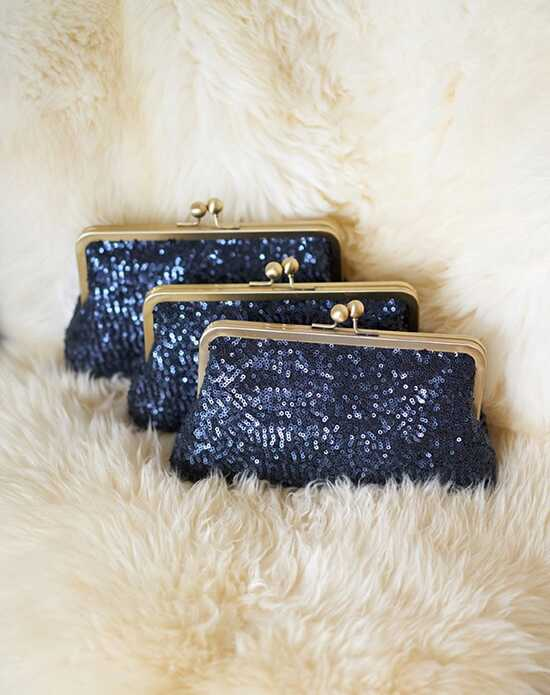 Davie & Chiyo | Clutch Collection Esmé Clutch Set Blue Clutches + Handbag