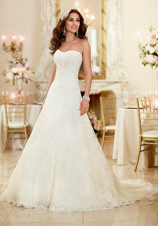 Stella York 6024 A-Line Wedding Dress