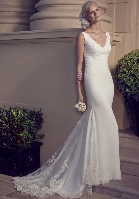 Casablanca Bridal 2186 Sheath Wedding Dress