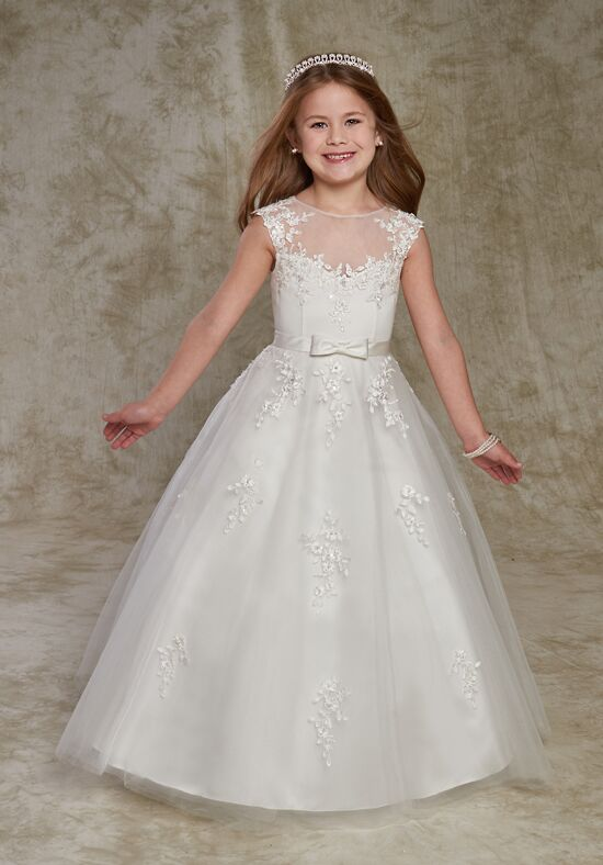 Cupids by mary 39 s f539 flower girl dress the knot for Wedding dresses for big hips