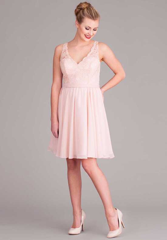 Kennedy Blue Peyton V-Neck Bridesmaid Dress