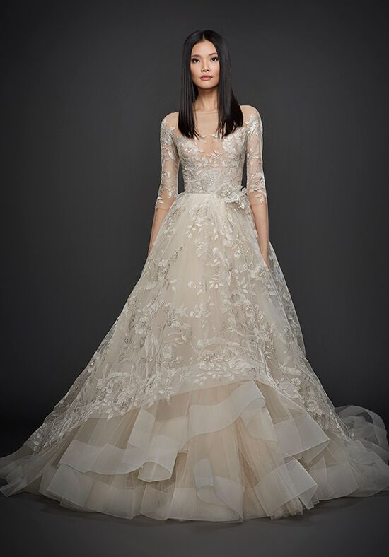 Lazaro 3758 Ball Gown Wedding Dress
