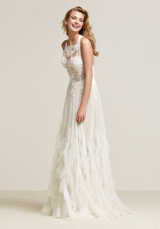 PRONOVIAS DRACONIA Sheath Wedding Dress