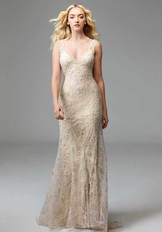 Willowby by Watters Elsie 57619 Sheath Wedding Dress
