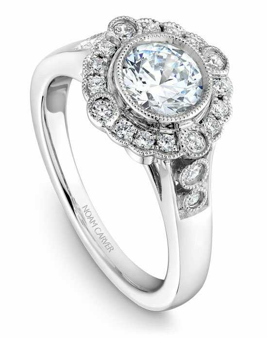 Noam Carver B091-01WS-100A Engagement Ring photo