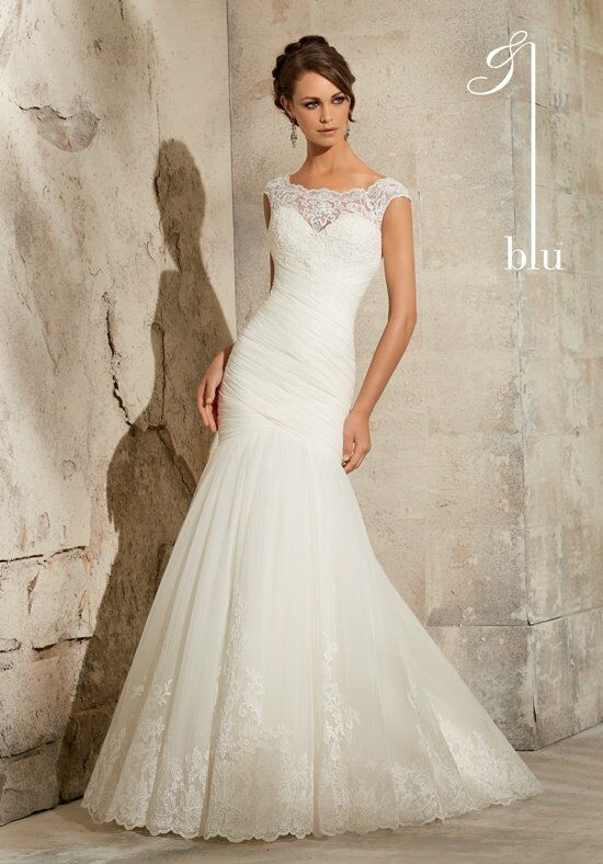 Morilee by Madeline Gardner/Blu 5305 Mermaid Wedding Dress