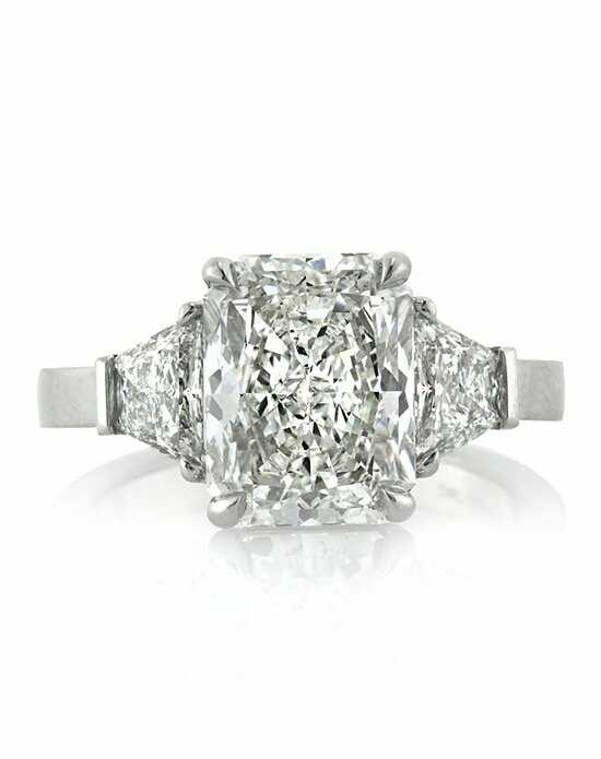 Mark Broumand Glamorous Radiant Cut Engagement Ring