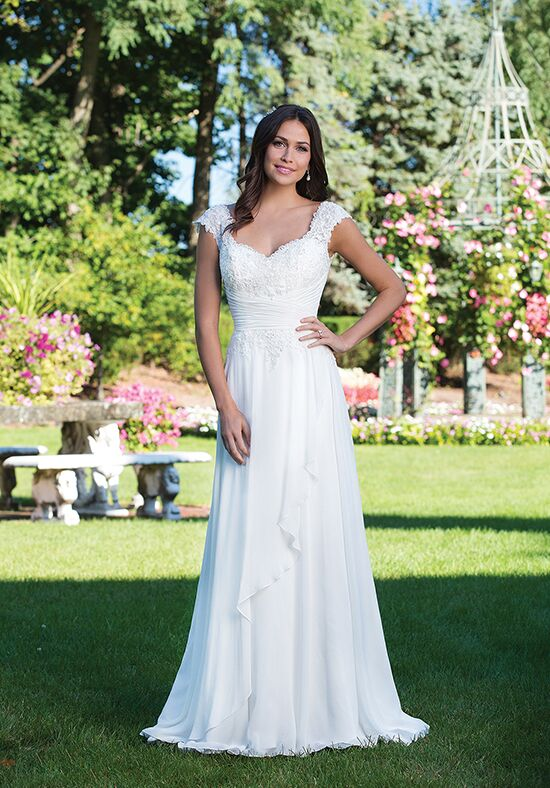 Sincerity Bridal 3927 A-Line Wedding Dress