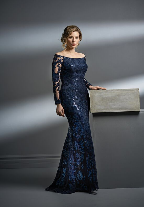 Jade Couture K198056 Blue Mother Of The Bride Dress