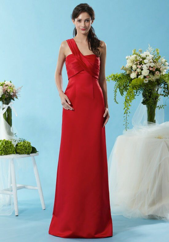 Eden Bridesmaids 7451 One-Shoulder Bridesmaid Dress