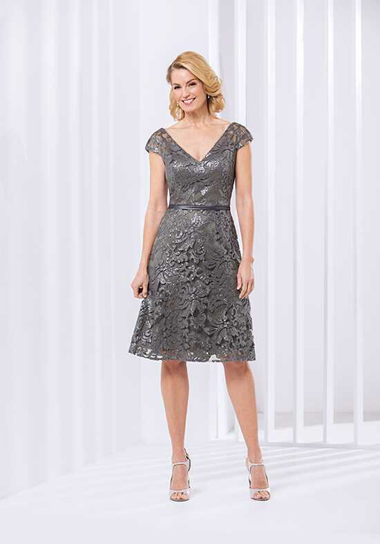 Jasmine Black Label M180066 Silver Mother Of The Bride Dress