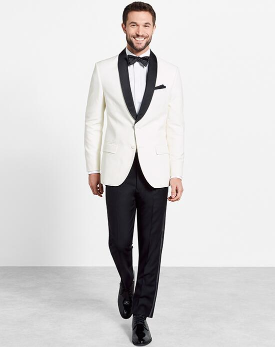 The Black Tux Black Shawl Jacket Tuxedo Wedding Tuxedos + Suit photo