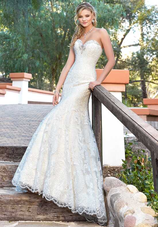 Ivoire Firenze NICOLA, V1711 Sheath Wedding Dress