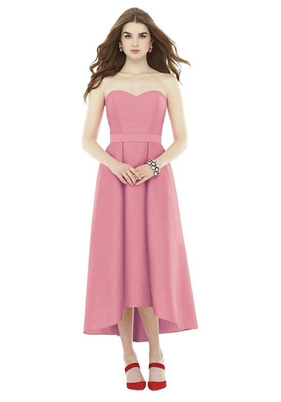 Alfred Sung D714 Sweetheart Bridesmaid Dress