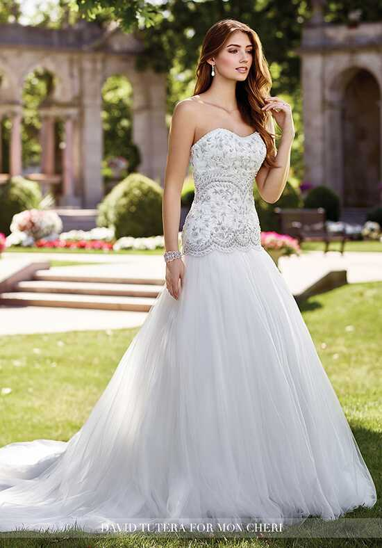 David Tutera for Mon Cheri 117287 Nudara A-Line Wedding Dress