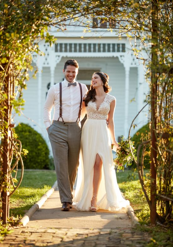 Martina Liana Bayley + Shae Sheath Wedding Dress