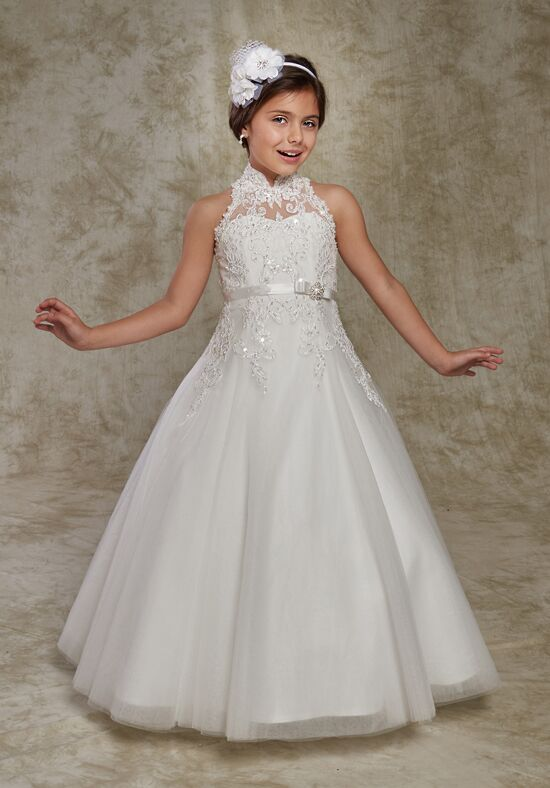 Cupids by Mary's F537 Ivory Flower Girl Dress