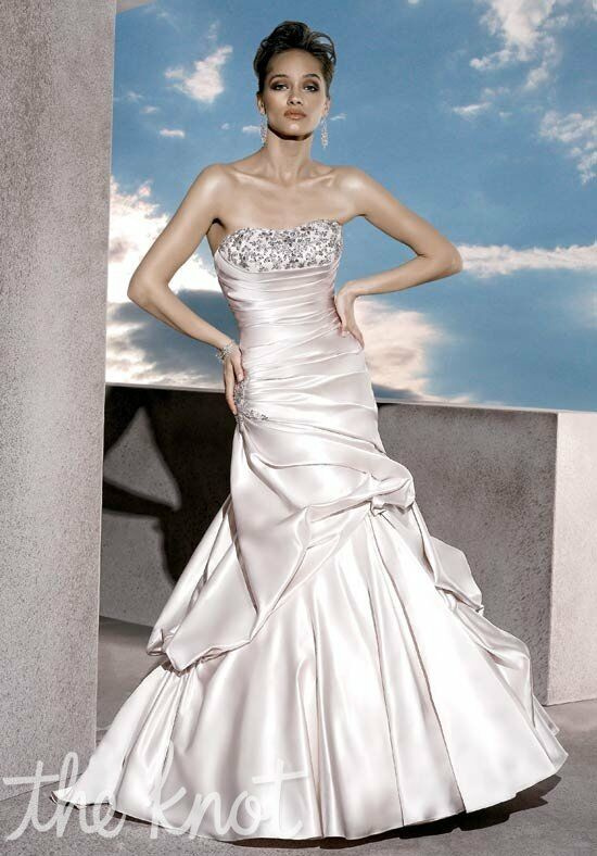 Demetrios 4290 Mermaid Wedding Dress