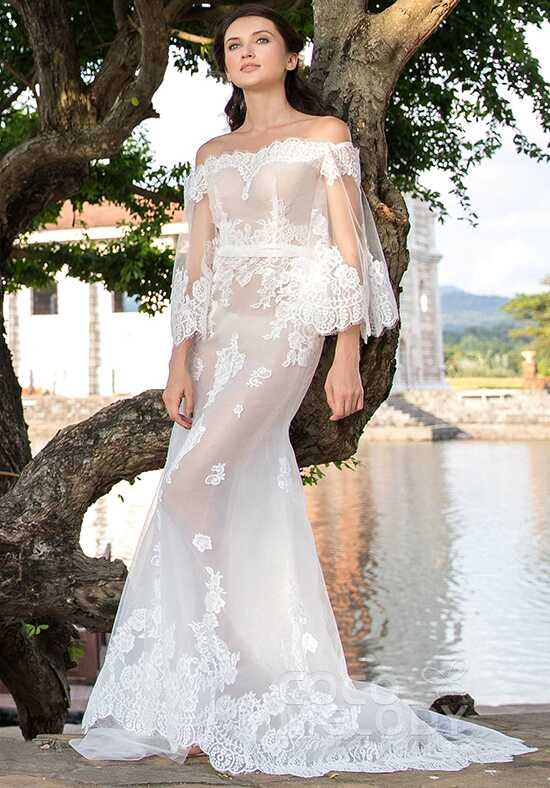 CocoMelody Wedding Dresses LD5366 Mermaid Wedding Dress