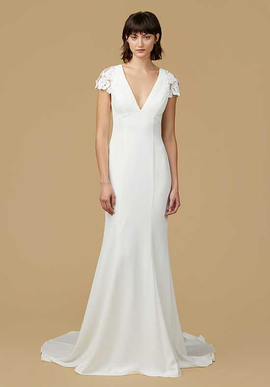 Nouvelle Amsale Amanda Sheath Wedding Dress