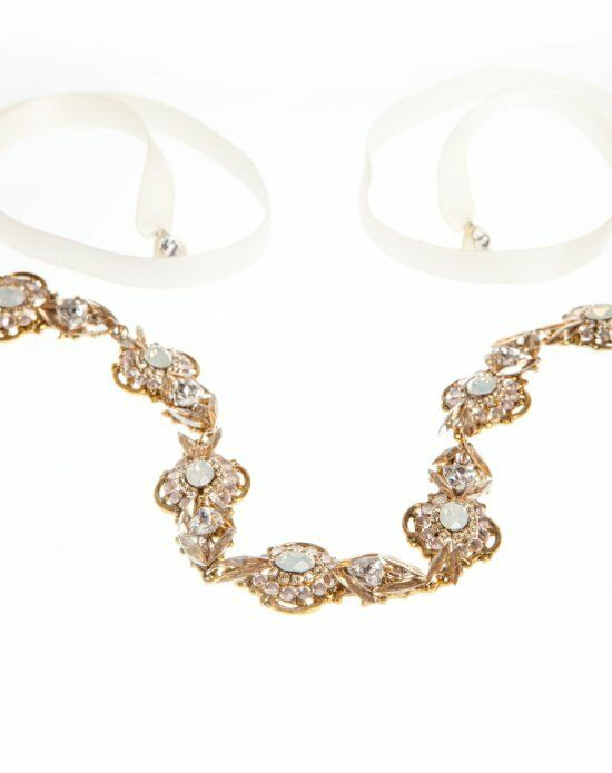MEG Jewelry Opal headband and necklace Wedding Necklace photo