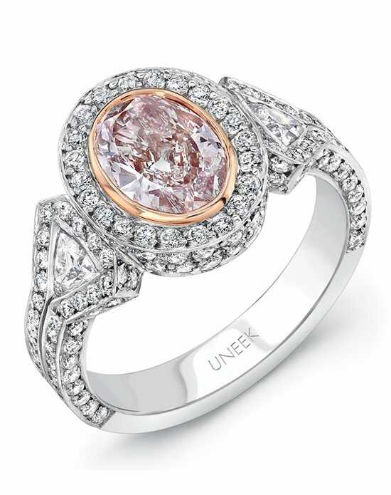 Uneek Fine Jewelry Oval Cut Engagement Ring