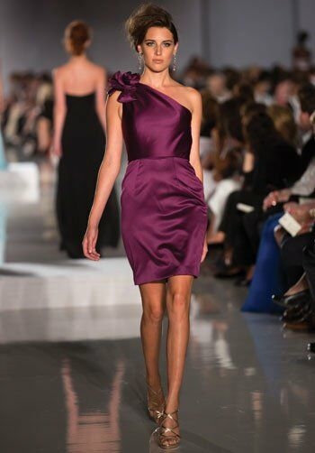 Badgley Mischka BM10SH Bridesmaid Dress