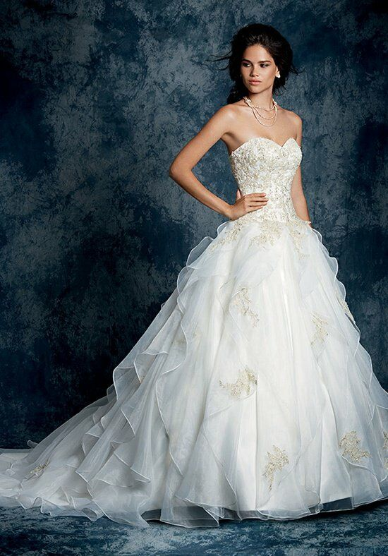 Alfred Angelo Sapphire Bridal Collection 899 Ball Gown Wedding Dress