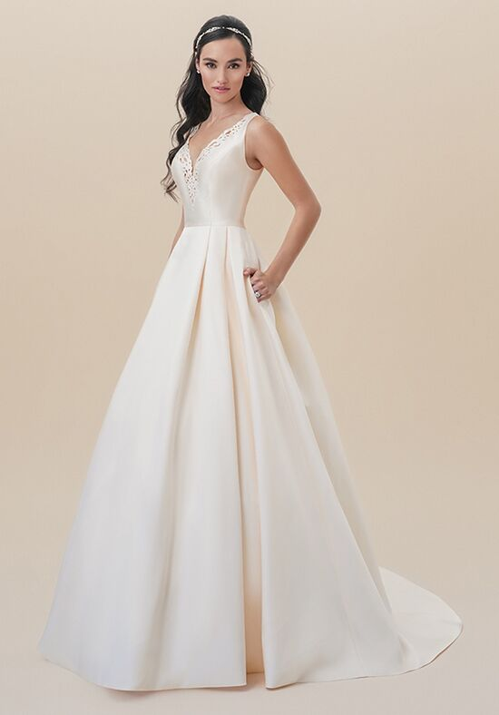 Moonlight Tango T827 A-Line Wedding Dress