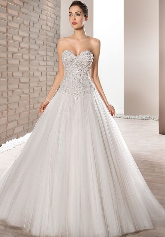 Demetrios 664 Ball Gown Wedding Dress