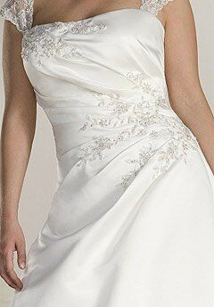 Sincerity Bridal Plus 4504 A-Line Wedding Dress