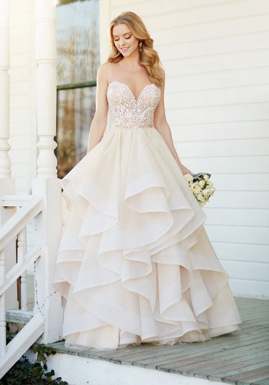Martina Liana Bryce+Stevie Ball Gown Wedding Dress