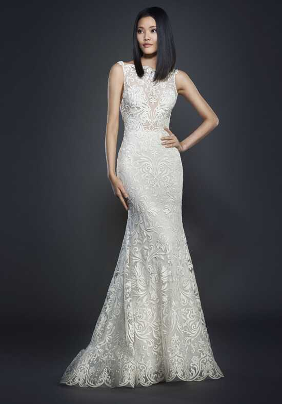 Lazaro 3710 Sheath Wedding Dress