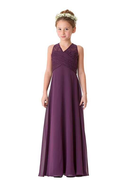 Bari Jay Bridesmaids 1669-JR V-Neck Bridesmaid Dress