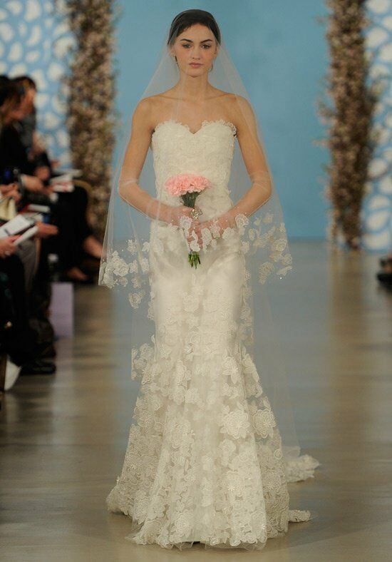 Oscar de la Renta Bridal 2014 Look 6 Mermaid Wedding Dress