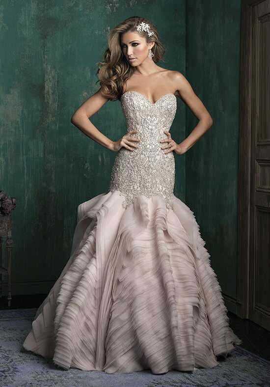 Allure Couture C346 Mermaid Wedding Dress