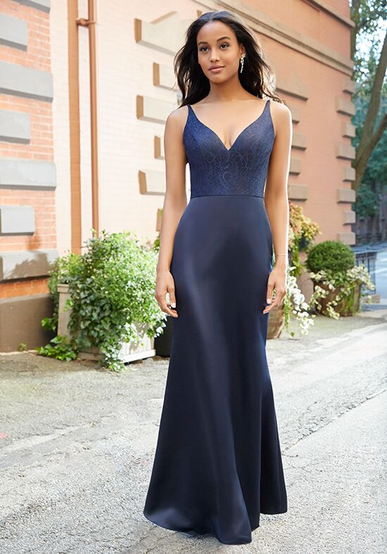 Hayley Paige Occasions 5809 V-Neck Bridesmaid Dress