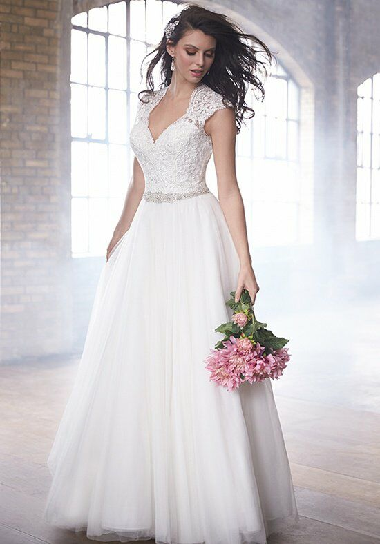 Madison James MJ172 A-Line Wedding Dress