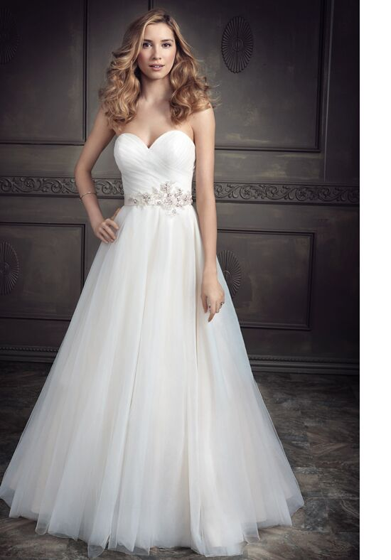 Kenneth Winston: Ella Rosa Collection BE338 Wedding Dress - The Knot