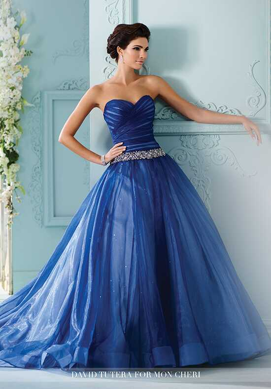 Martin Thornburg a Mon Cheri Collection 216257 Indigo Ball Gown Wedding Dress