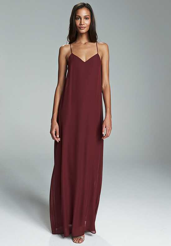 Nouvelle Amsale Bridesmaids Willa V-Neck Bridesmaid Dress