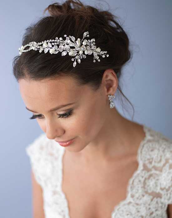 USABride Crystal Bridal Headband TI-3268 Gold, Silver Headband