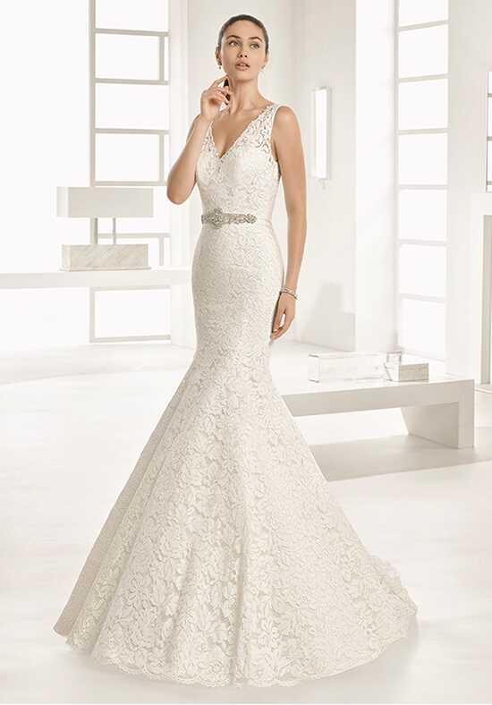 Two by Rosa Clará Odisea Mermaid Wedding Dress