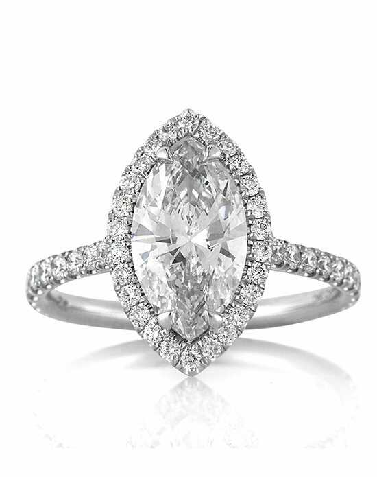 mark broumand 260ct marquise cut diamond engagement ring - Marquise Wedding Rings