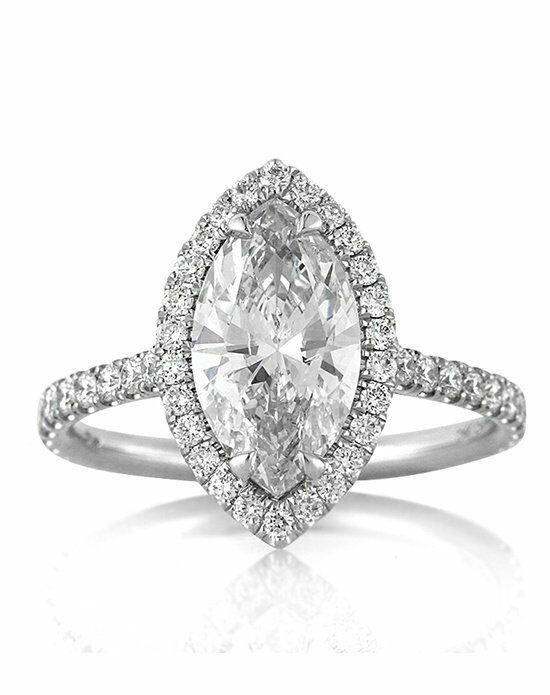 Mark Broumand. 2.60ct Marquise Cut Diamond Engagement Ring Great Ideas