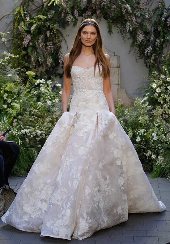Monique Lhuillier Freesia Ball Gown Wedding Dress