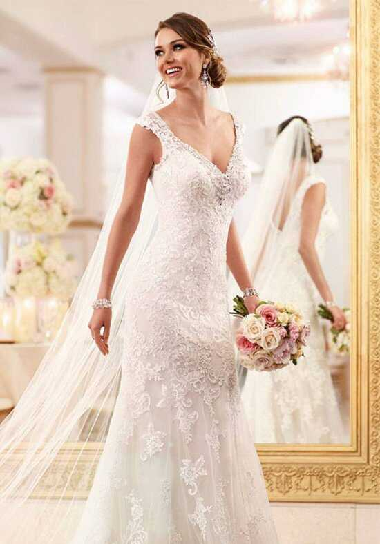 Stella York 6037 Sheath Wedding Dress