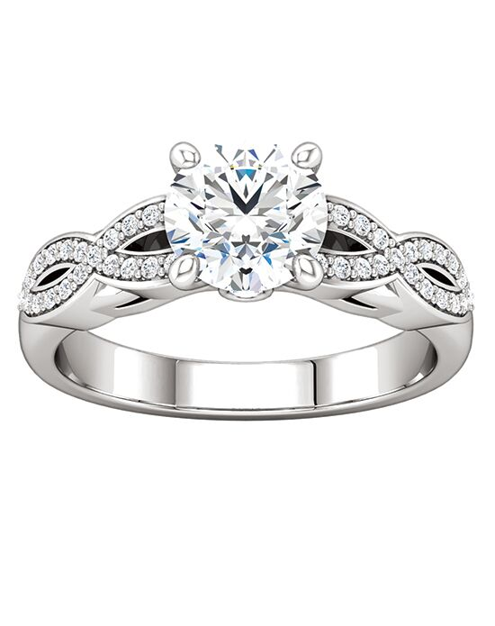 ever&ever Elegant Princess, Asscher, Cushion, Emerald, Round, Oval Cut Engagement Ring
