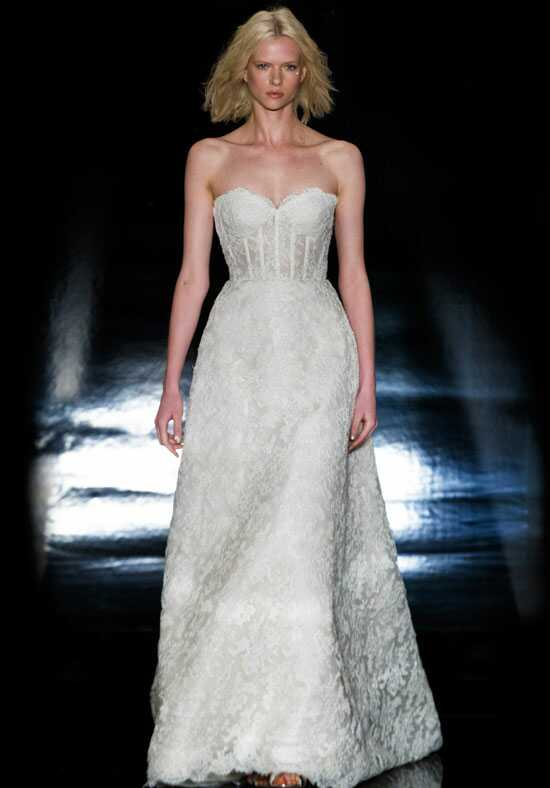 Reem Acra Adriana A-Line Wedding Dress